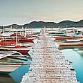 Wooden Pier by MotHaiBaPhoto Prints