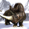 Woolly Rhinoceros by Christian Darkin