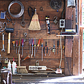 Work Bench And Tools by Adam Crowley