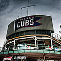Wrigley Field Bleachers by Anthony Doudt