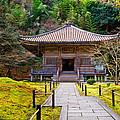 Zen Garden At A Sunny Day by U Schade