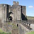 Caerphilly Castle by Carol Ailles