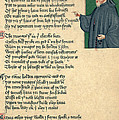 Geoffrey Chaucer by Photo Researchers