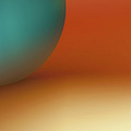 Abstract Colored Forms And Light by Ralf Hiemisch