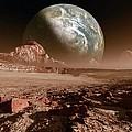 Earth-like Planet, Artwork by Detlev Van Ravenswaay
