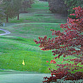 11th Hole At Clarksville C C by Ed Gleichman