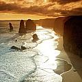 12 Apostles At Sunset by Chris Anthony