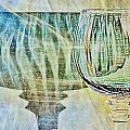 Shadow Of Wine Glass by Werner Lehmann
