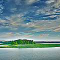 1206-9119 Arkansas River At Spadra Park  by Randy Forrester