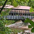 12690 Albany Covered Bridge by John Prichard