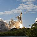 Space Shuttle Atlantis Lifts by Stocktrek Images