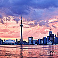 Toronto Sunset Skyline by Elena Elisseeva