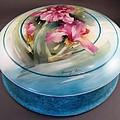 172 Chocolate Box Pink Irises by Wilma Manhardt