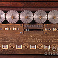 17th Century Calculating Machine by Tomsich