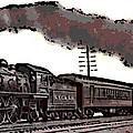1800's Steam Train by George Pedro