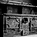 1800's Stove Black And White by Joseph Noonan