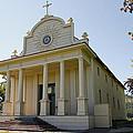 1840s Cataldo Mission - Idaho State by Daniel Hagerman