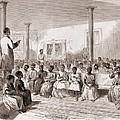 1866 Classroom Of Zion School by Everett