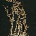 1868 Waterhouse Hawkins & Hadrosaur Gilt by Paul D Stewart