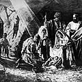 1898 Artwork Of Nativity Scene At Nativity Church by Munir Alawi