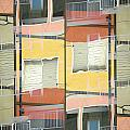 Urban Abstract San Diego by Carol Leigh