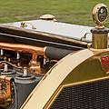 1912 Mercer Model 35 C Raceabout Engine And Motometer by Jill Reger