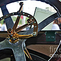 1913 Chalmers - Steering Wheel by Kaye Menner