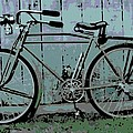 1918 Harley Davidson Bicycle by George Pedro