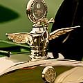 1919 Mcfarlan Type 125 Touring Motometer - Hood Ornament by Jill Reger