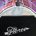 1919 Pierce-arrow Model 48 Dual Valve Roadster Grille Emblem by Jill Reger