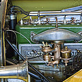 1919 Stutz Bearcat Special Engine by Jill Reger