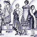 1920s British Fashions by Mel Thompson
