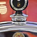 1924 Cadillac Phaeton Hood Ornament And Emblem by Jill Reger