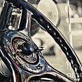 1924 Packard - Steering Wheel by Kaye Menner