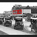 1924 Vintage Automobiles Parked At Atlantic City by Anne Kitzman