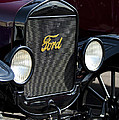 1925 Ford Model T Coupe Grille by Jill Reger