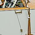 1925 Rolls-royce Phantom I Barker Sports Torpedo Tourer Steering Wheel by Jill Reger