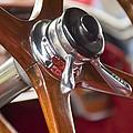 1925 Stutz 695 Speedway Sportster Steering Wheel by Jill Reger