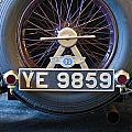 1927 Bentley 6.5 Liter Sports Tourer Spare Tire by Jill Reger