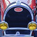 1927 Bugatti Replica Grille Headlights by Jill Reger