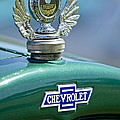 1928 Chevrolet Stake Bed Pickup Hood Ornament by Jill Reger