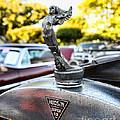 1928 Hudson Super Six Roadster Hood Ornament by Paul Ward