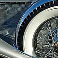 1929 Duesenberg Model J Dual Cowl Phaeton Spare Tire by Jill Reger