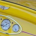 1929 Ford Model A Roadster Dashboard Instruments by Jill Reger
