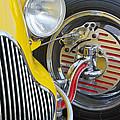 1929 Ford Model A Roadster Wheel by Jill Reger