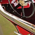 1929 Graham-paige Model 837 Lebaron Sport Phaeton Steering Wheel by Jill Reger