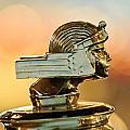 1929 Stutz Series M Four-passenger Dual-cowl Speedster Hood Ornament  by Jill Reger
