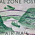 1931 Canal Zone Stamp by Bill Owen