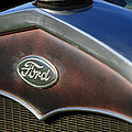 1931 Ford Grille Emblem by Jill Reger
