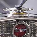 1931 Henney 2-passenger Convertible Hood Ornament by Jill Reger